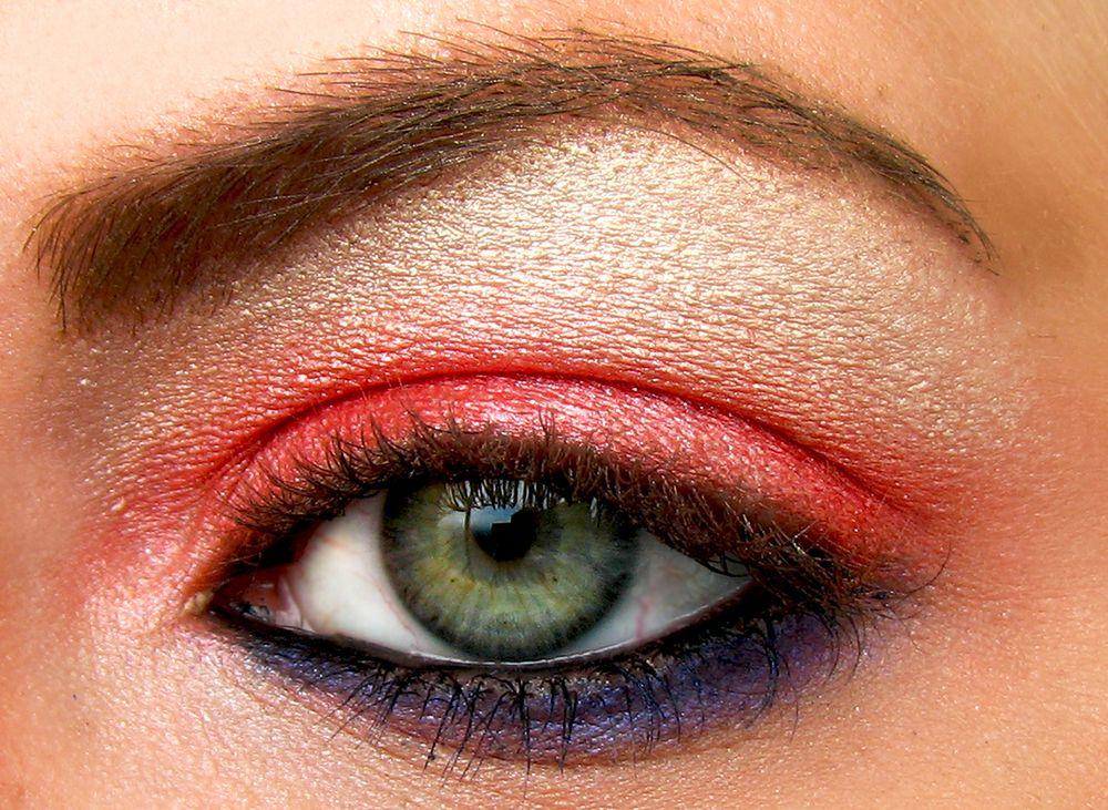Zielone Oczy Wykonanie Makijaży Odpowiednie Cienie Kolor Cieni
