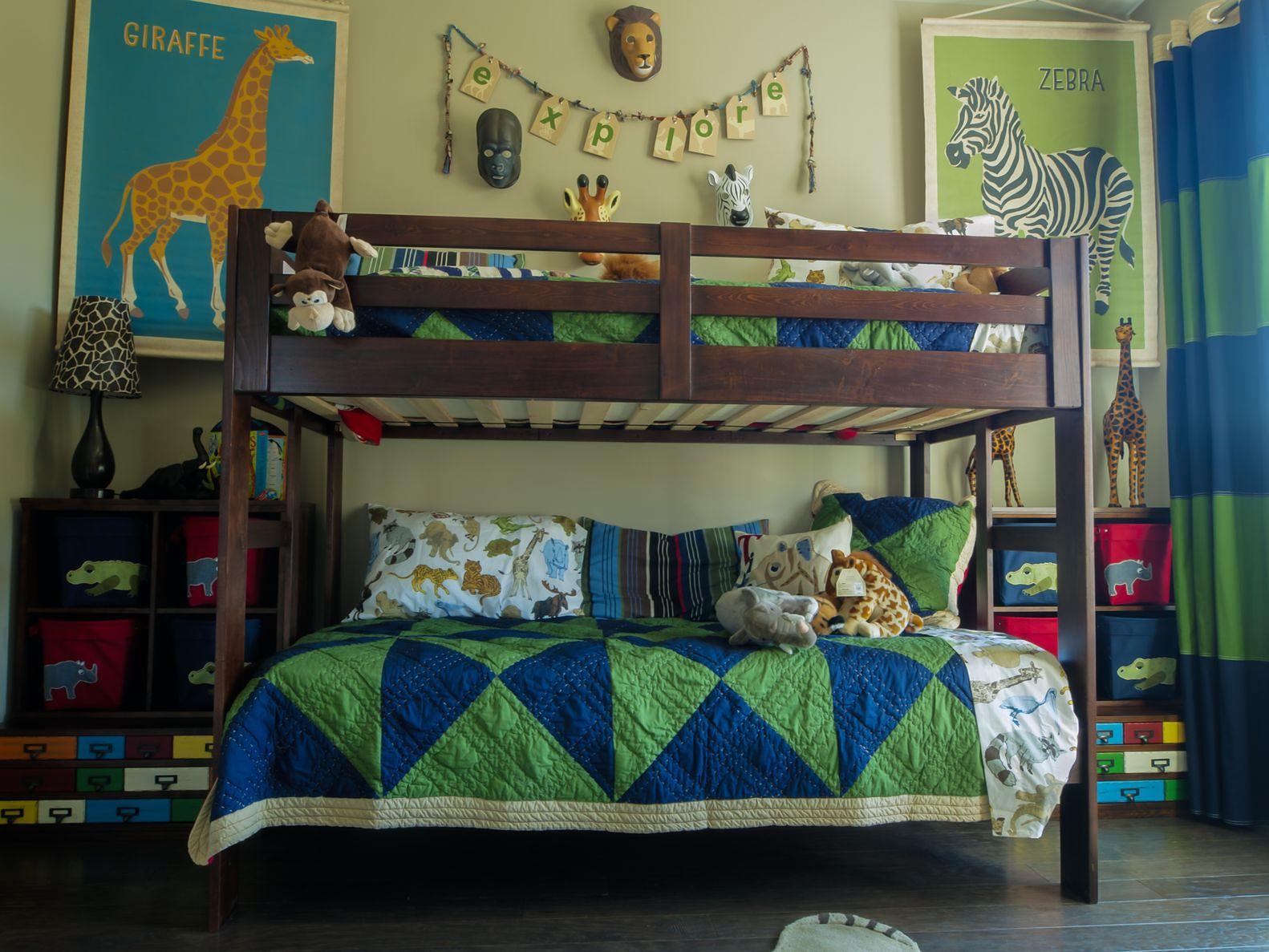 łóżka Piętrowe Dla Dzieci Rodzaje Bezpieczeństwo Wymiary