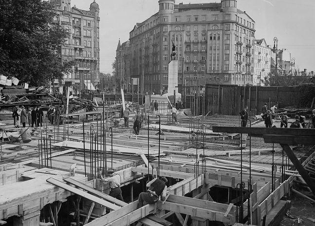 Wznowiona budowa Komendy Straży Pożarnej przy placu Unii Lubelskiej