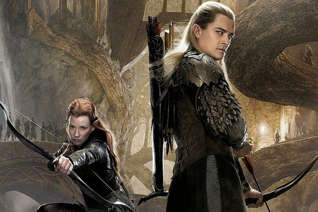The hobbit legolas and tauriel poster