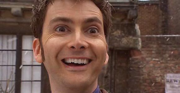 Excited gif doctor who