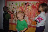 """Kurs plastyczny """"Maziajki"""" dla dzieci w wieku 2-3 lat"""