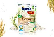Humana 100% Organic Kaszka bezmleczna ryżowa dla niemowląt po 4. miesiącu życia (200 g)