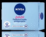 Delikatne mydło pielęgnujące NIVEA Baby (100 g)