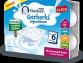Gerberki Jogurcikowe - Naturalny