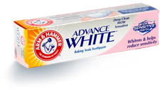 Wybielająca pasta do wrażliwych zębów Arm&Hammer Advance White for Sensitive Teeth (75 ml)
