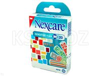 Plast.Nexcare Sensitive Design Pop Art steryl.