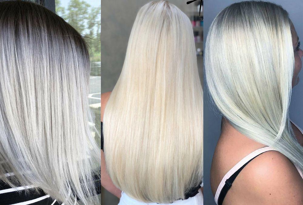 Biała Farba Do Włosów Hit Koloryzacji Wp Kobieta