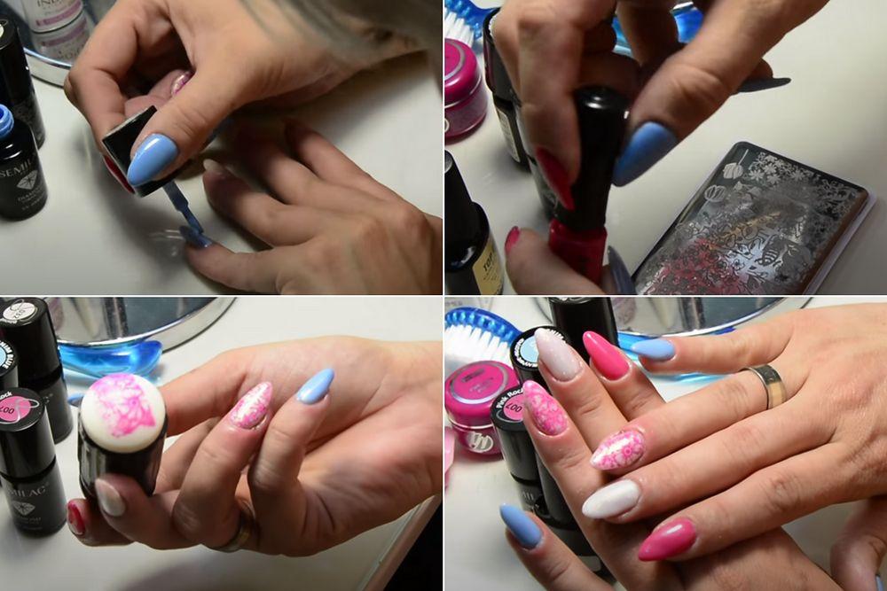 Do na zrobienia wzorki paznokcie samemu łatwe Jak wykonać
