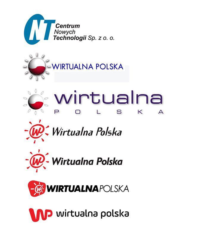 Logotypy WP - od 1995 roku do dziś