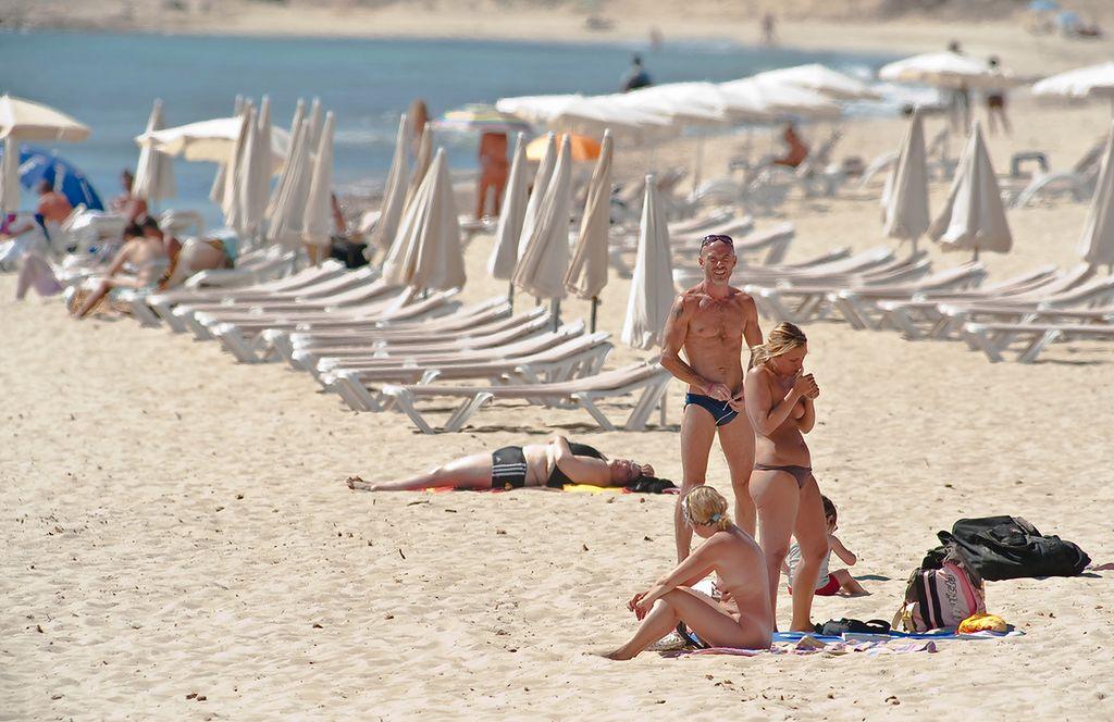 Chorwacji w gołe plaże Plaża Beritnica