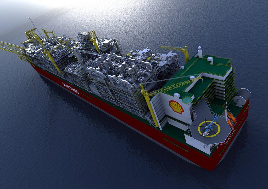 Shell Chce Zbudowac Gigantyczna Plywajaca Rafinerie Gadzetomania Pl