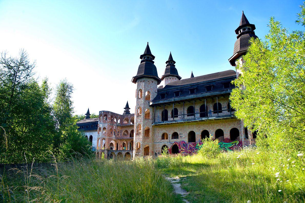 """""""Zamek"""" w Łapalicach"""