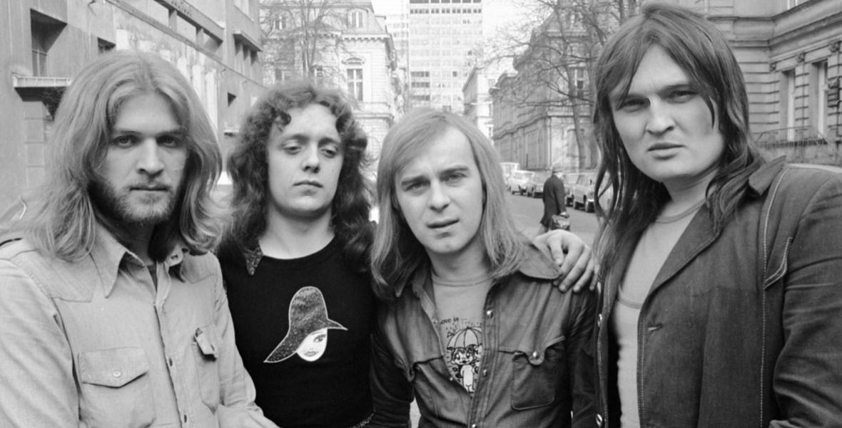 Budka Suflera w 1975 r.: Ziółkowski, Zeliszewski, Lipko, Cugowski