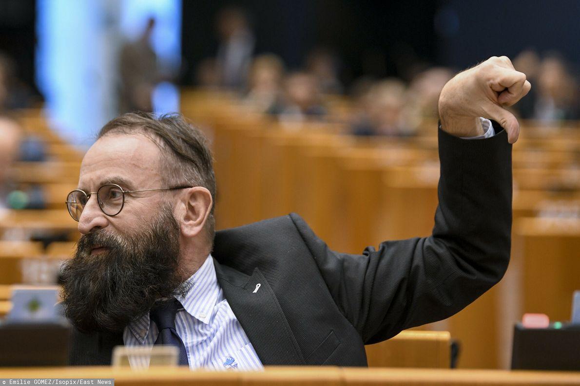 Jozesf Szajer w europarlamencie