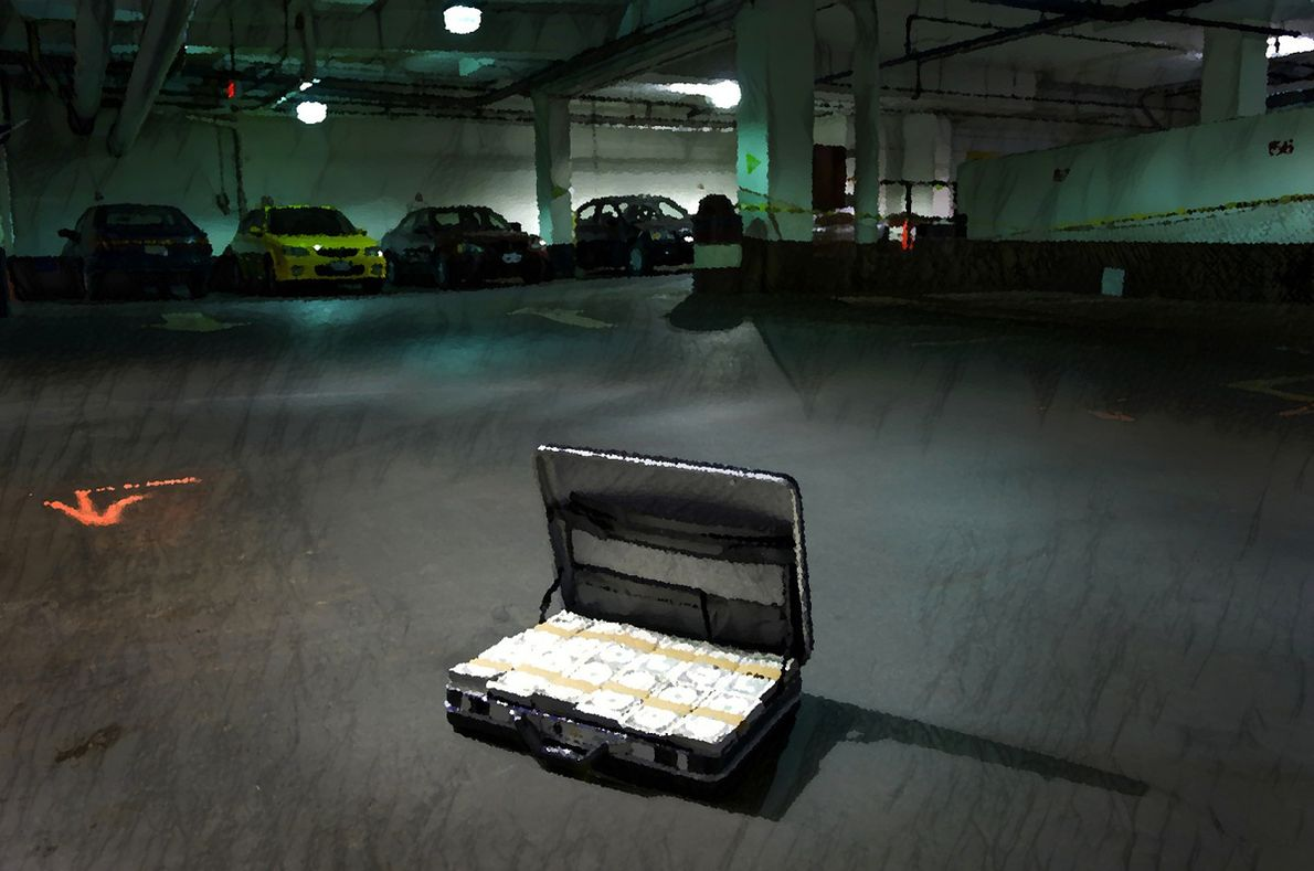 Elżbieta i Janusz musieli zostawiać teczki i torby z pieniędzmi na parkingach pod kołami aut i w innych miejscach