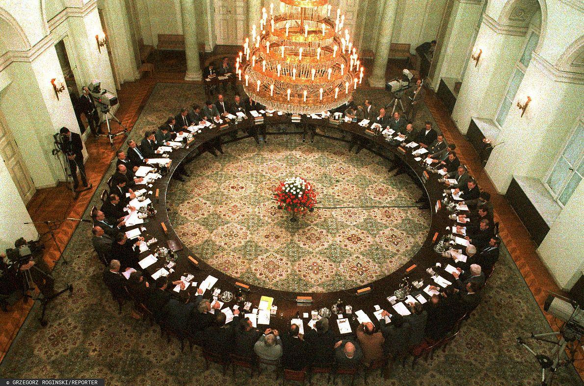Obrady Okrągłego Stołu w 1989 r.