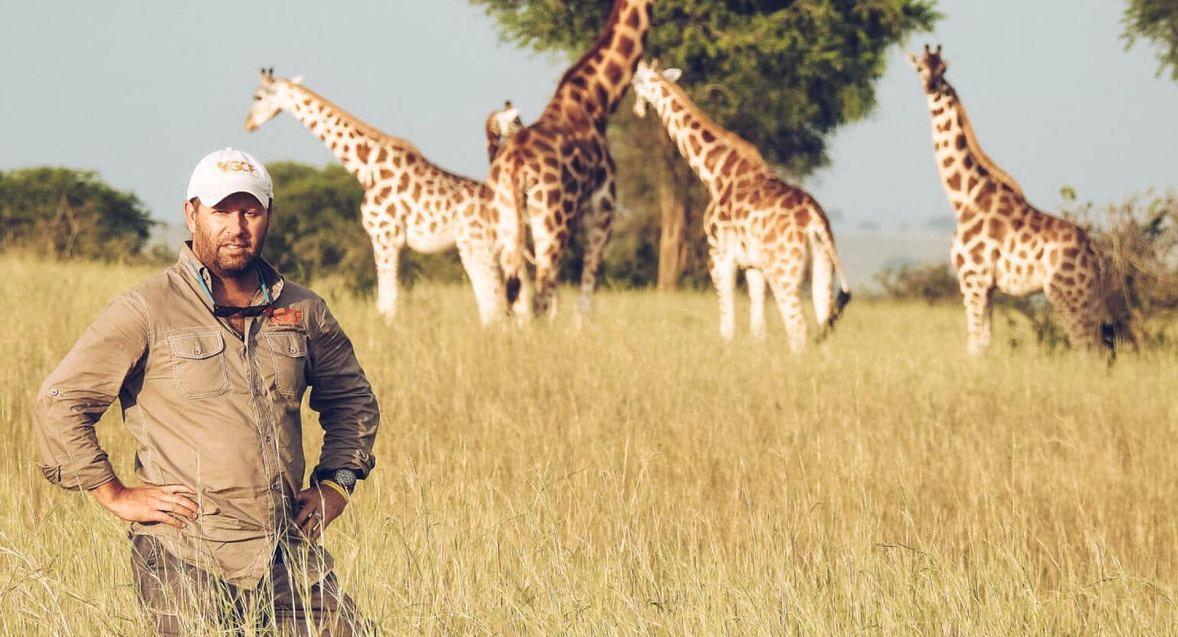 Julian Fennessy, współzałożyciel Giraffe Conservation Foundation