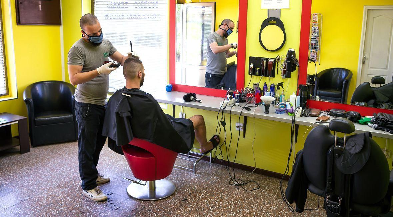 Zakład fryzjerski w Belgradzie