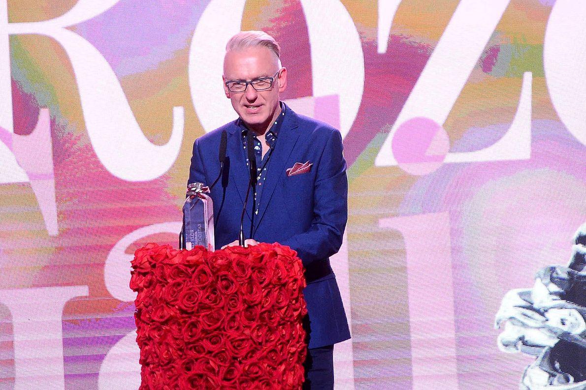 Mariusz Szczygieł na Różach Gali 2019