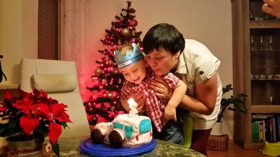 Katarzyna Sass świętuje urodziny synka