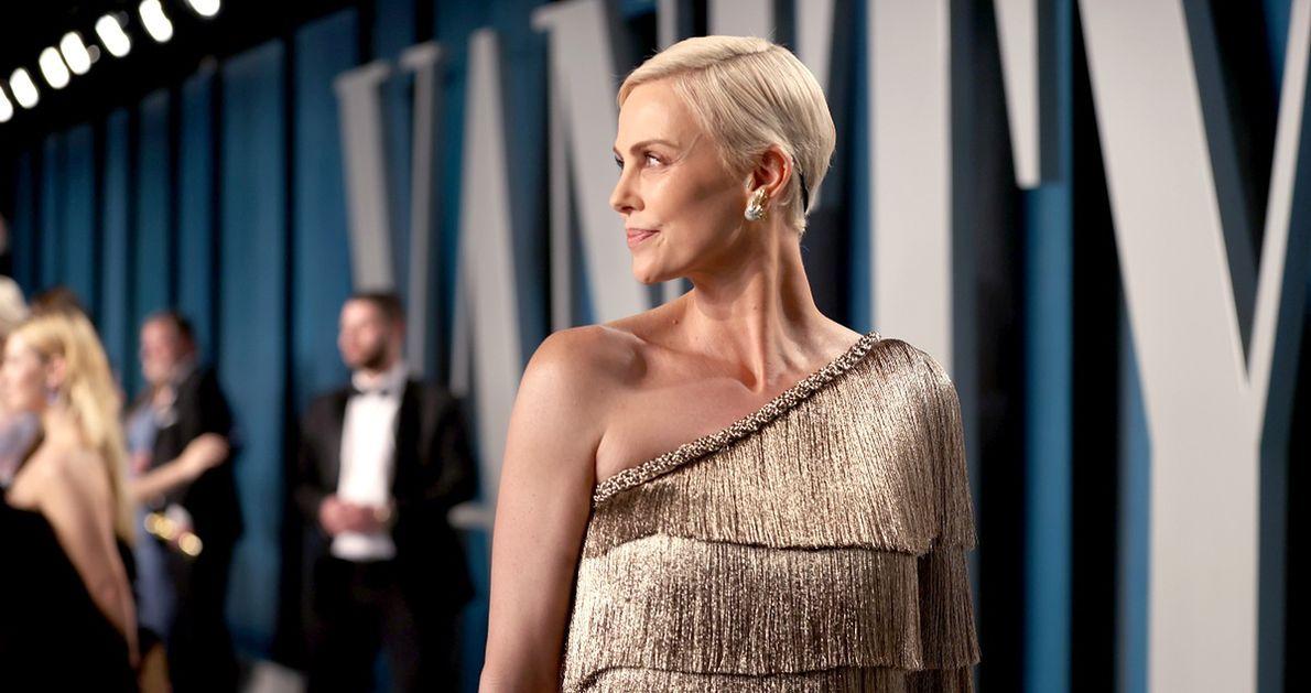 Charlize Theron na gali Oscarów