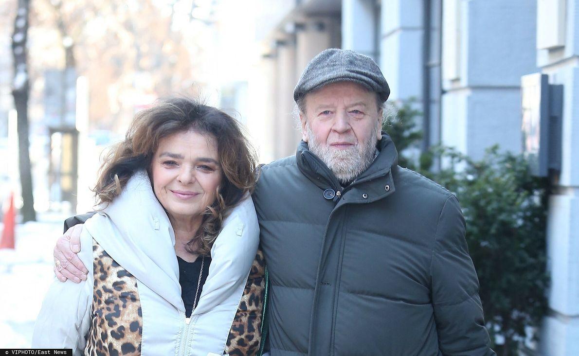 Katarzyna Grochola i jej mąż, muzyk Stanisław Bartosik