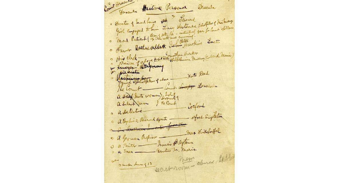Odkryte przez Dacre Stokera zapiski pradziadka