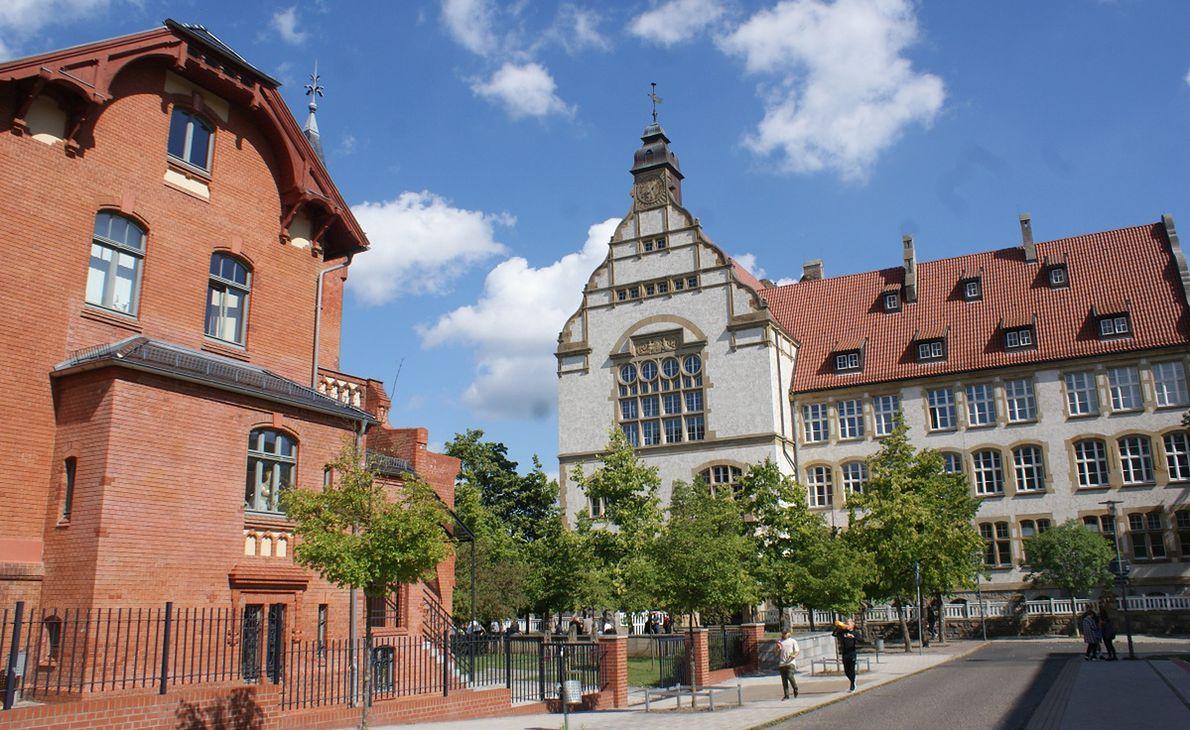 Gimnazjum (odpowiednik polskiego liceum) we Frankfurcie, które uczy polskiego od 1958 roku