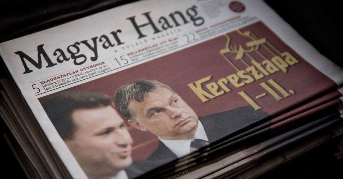 """""""Magyar Hang"""" to tygodnik opozycyjny drukowany na Słowacji, bo na Węgrzech nikt go nie chce wydawać"""