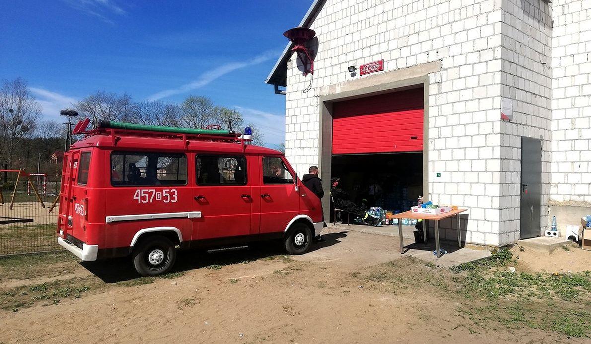 Strażacy z OSP gaszą pożary od niedzieli. W akcji są prawie bez przerwy