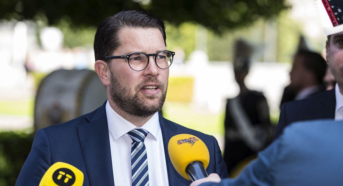 Jimmie Åkesson, lider Szwedzkich Demokratów