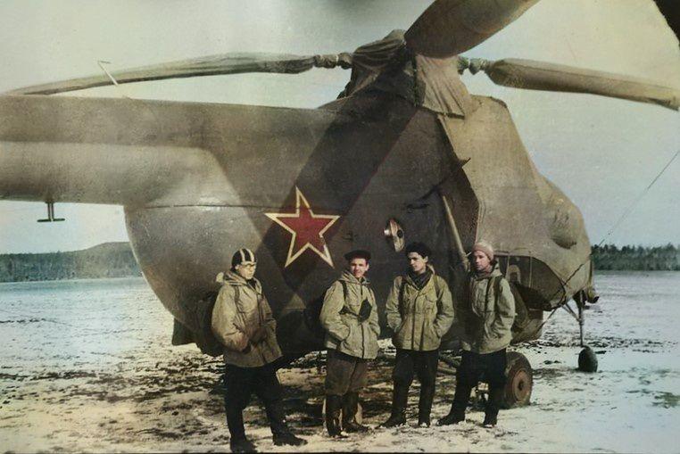 Ekipa ratowników, którzy mieli za zadanie znalezienie studentów // fot. Fundacja Pamięci Grupy Diatłowa