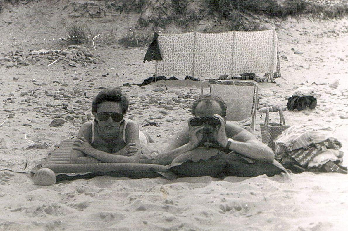 Mama i Tata, beztroskie chwile na plaży