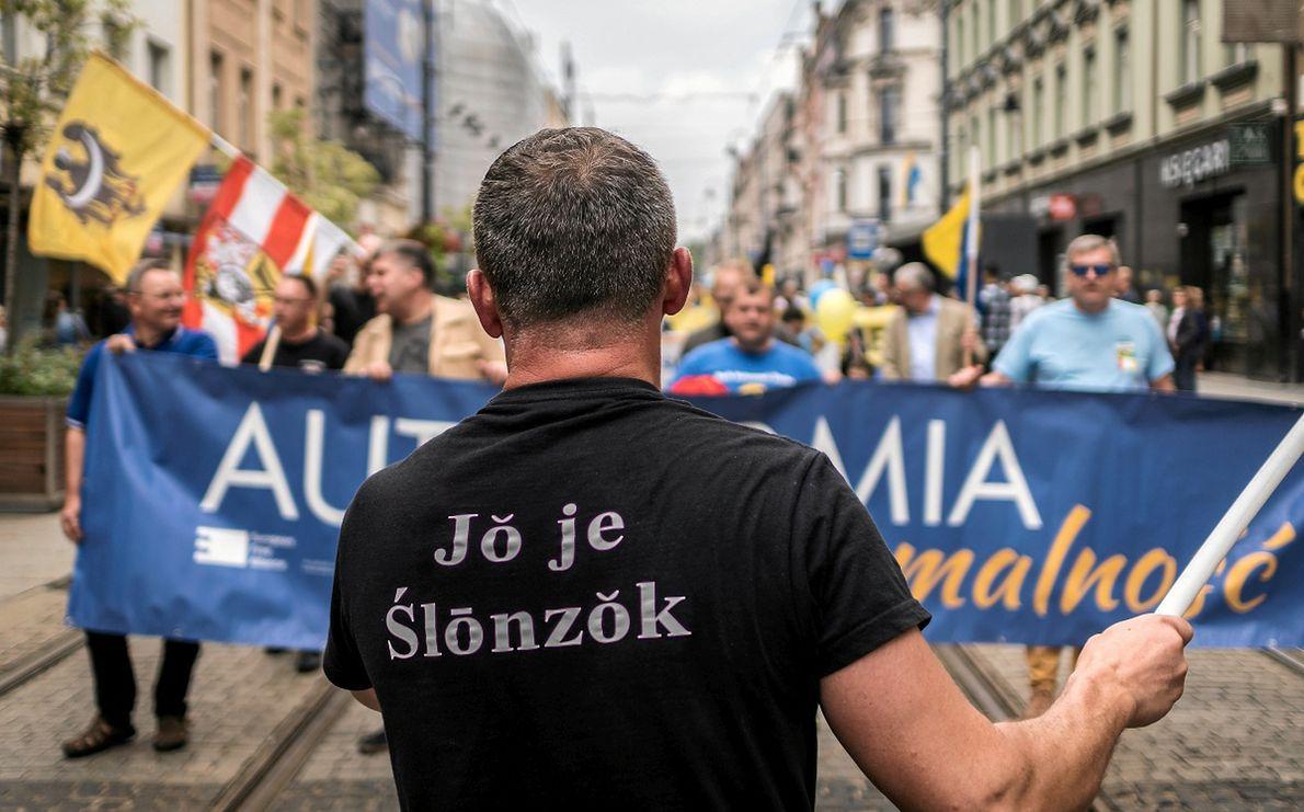 Marsz na rzecz autonomii Śląska w 2019 r.