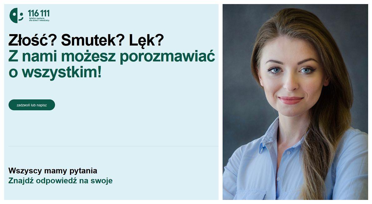 Oliwia Pogodzińska, psycholożka i konsultantka Telefonu Zaufania Dla Dzieci i Młodzieży Fundacji Dajemy Dzieciom Siłę
