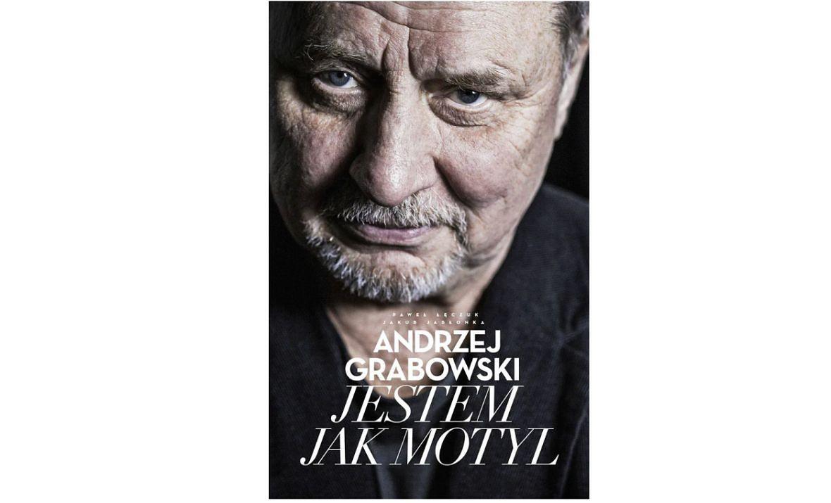 """Książka """"Jestem jak motyl"""" autorstwa Andrzeja Grabowskiego, Jakuba Jabłonki i Pawła Łęczuka ukazała się nakładem wydawnictwa Agora"""