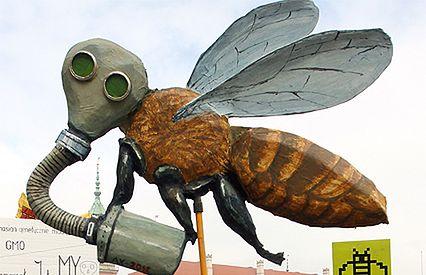 Marsz w obronie pszczół - WP Wiadomości