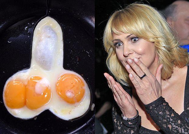 jeść penisy i jajka