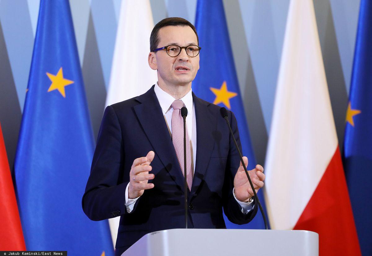"""Morawiecki: """"Pandemia koronawirusa to największe dotychczasowe wyzwanie dla Polski""""  - Money.pl"""