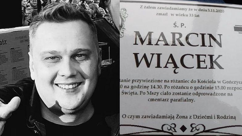 Nie żyje wokalista disco polo Marcin Wiącek. Miał 33 lata