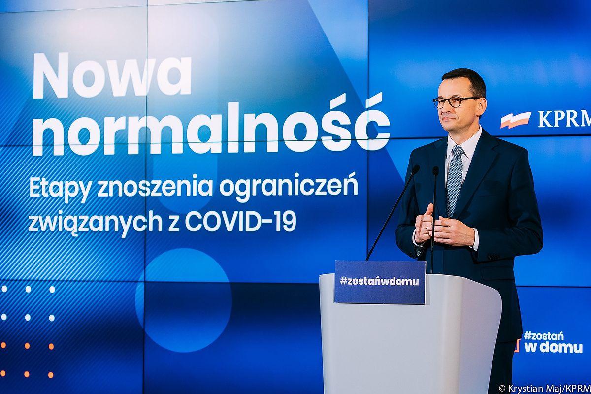 Konferencja premiera Mateusza Morawieckiego. Drugi etap odmrażania gospodarki - Money.pl