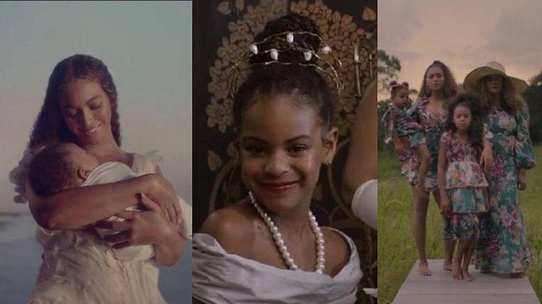 Beyonce pokazała swoje dzieci w nowym wizualnym albumie ...