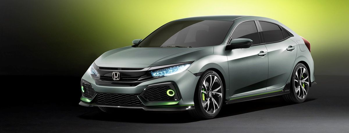 honda civic prototype 10 gen 2016 premiera. Black Bedroom Furniture Sets. Home Design Ideas