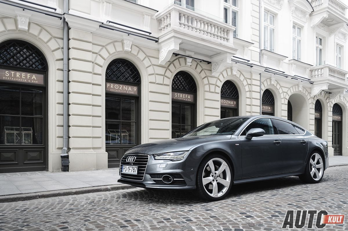 audi a7 sportback 3 0 tfsi s tronic quattro test opinia. Black Bedroom Furniture Sets. Home Design Ideas