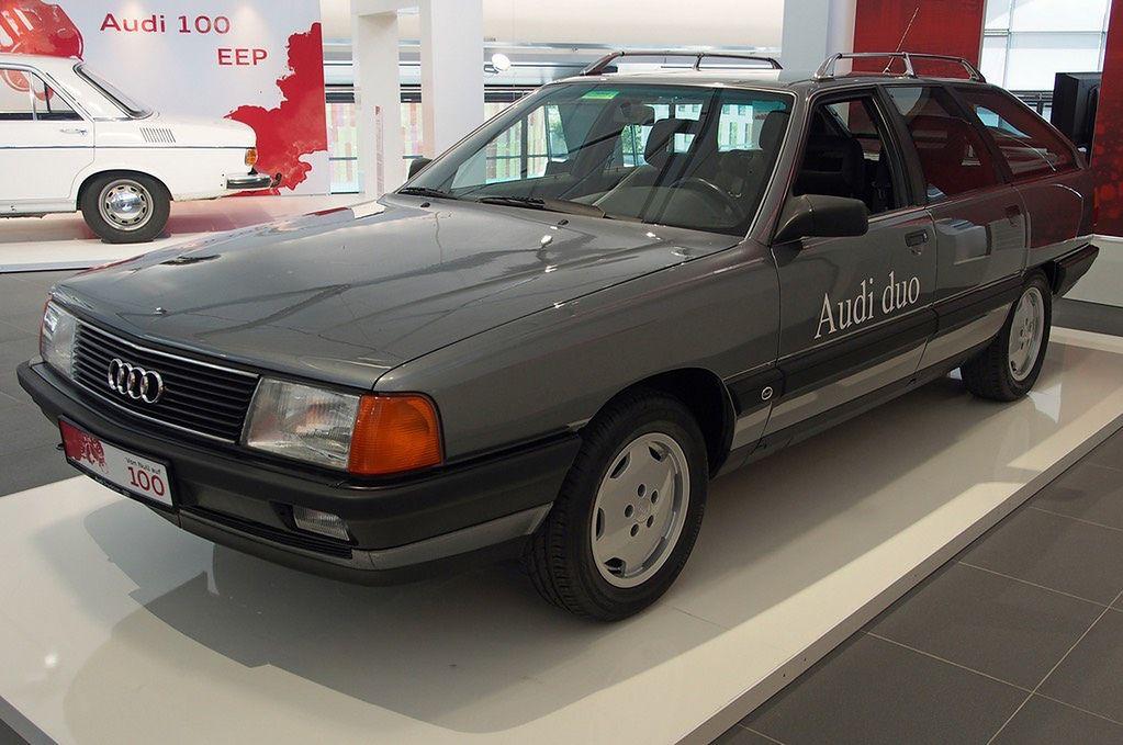 Audi pokazało hybrydę plug-in już 30 lat temu. Konstrukcja Duo robi wrażenie do dziś | Autokult.pl