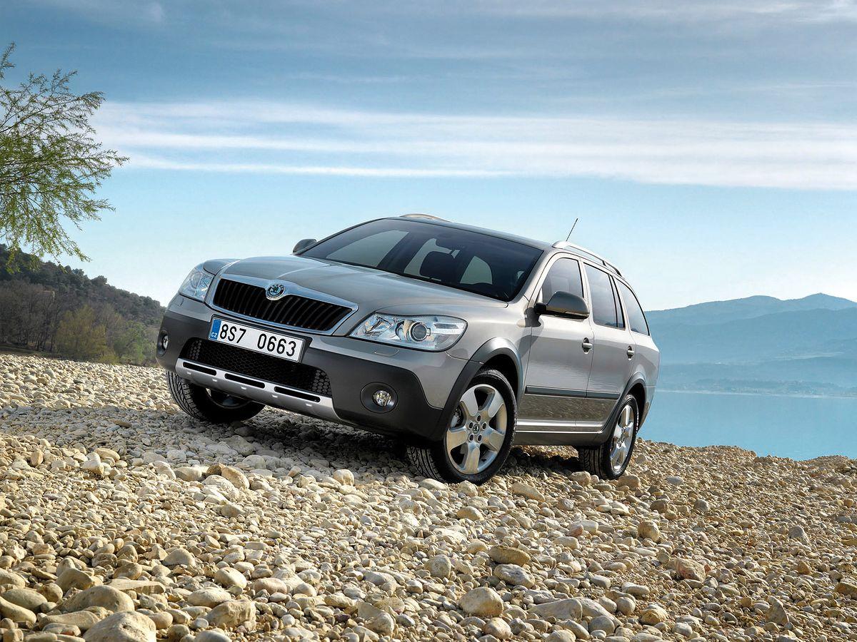 Używana Škoda Octavia II Scout porady opinie awarie części