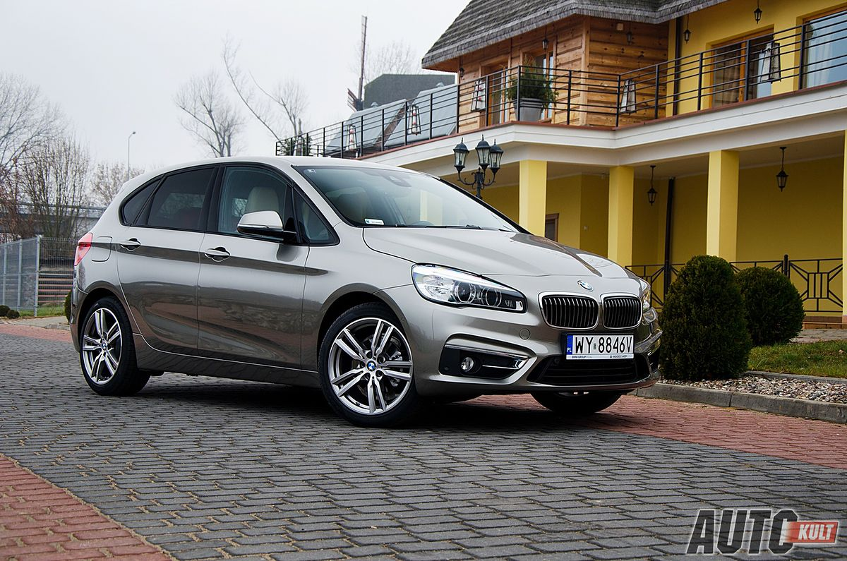 bmw 218d active tourer luxury line test galeria. Black Bedroom Furniture Sets. Home Design Ideas