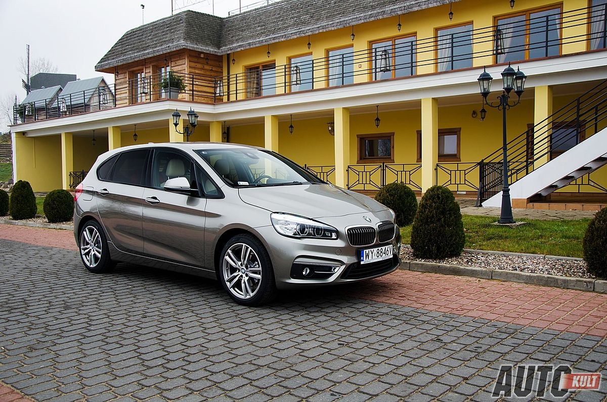 bmw 218d active tourer luxury line test. Black Bedroom Furniture Sets. Home Design Ideas