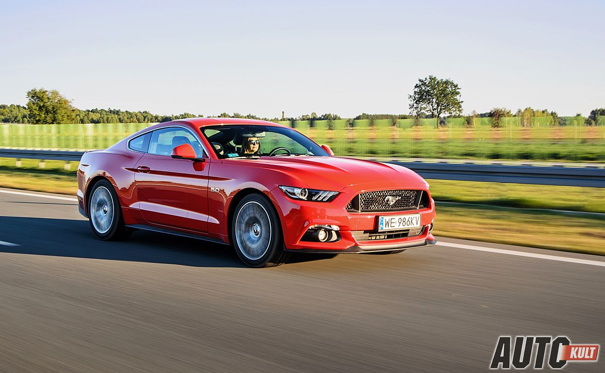Nowy ford mustang fastback gt v8 5 0 test opinia spalanie cena autokult pl